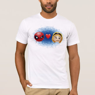 Spider-Man & Gwen Heart Emoji T-Shirt