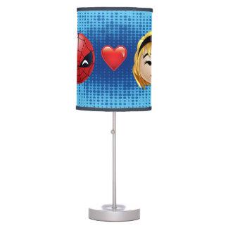 Spider-Man & Gwen Heart Emoji Table Lamp