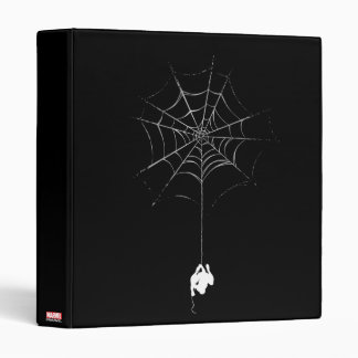 Spider-Man Hanging From Web Silhouette Binders