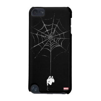 Spider-Man Hanging From Web Silhouette iPod Touch (5th Generation) Case