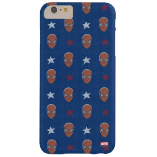Spider-Man Head and Stars Pattern Barely There iPhone 6 Plus Case
