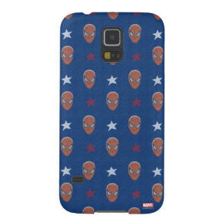 Spider-Man Head and Stars Pattern Case For Galaxy S5