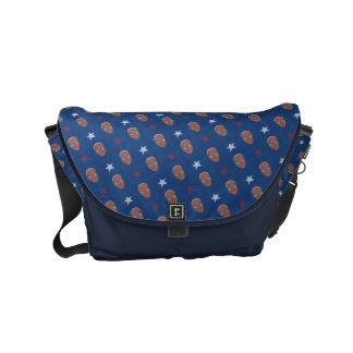 Spider-Man Head and Stars Pattern Commuter Bags