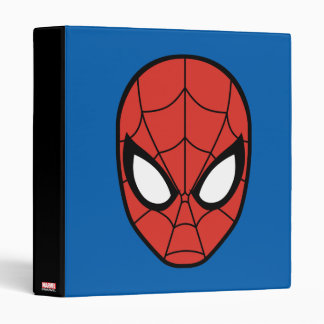 Spider-Man Head Icon 3 Ring Binders