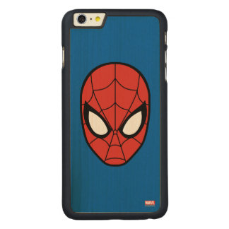 Spider-Man Head Icon Carved® Maple iPhone 6 Plus Case