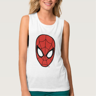 Spider-Man Head Icon Tank Top