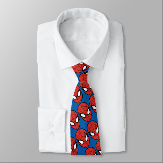 Spider-Man Head Icon Tie
