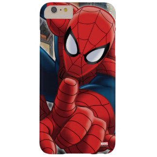 Spider-Man High Above the City Barely There iPhone 6 Plus Case