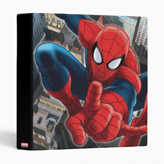 Spider-Man High Above the City Binder