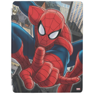 Spider-Man High Above the City iPad Cover