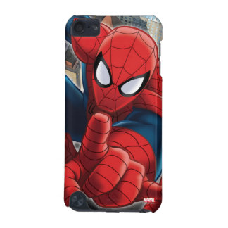 Spider-Man High Above the City iPod Touch (5th Generation) Case