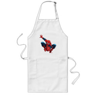 Spider-Man High Above the City Long Apron