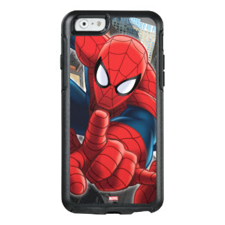 Spider-Man High Above the City OtterBox iPhone 6/6s Case