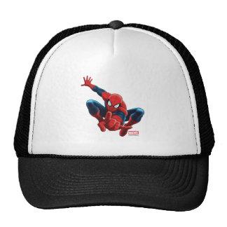 Spider-Man High Above the City Trucker Hat