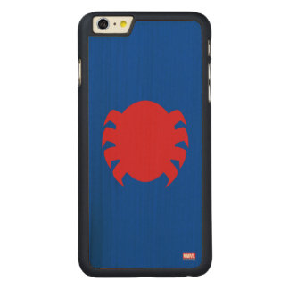 Spider-Man Icon Carved® Maple iPhone 6 Plus Case