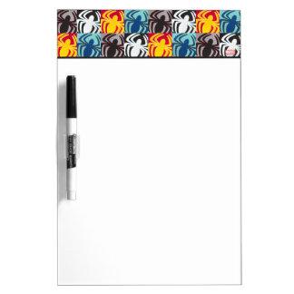 Spider-Man Icon Pattern Dry Erase Whiteboard
