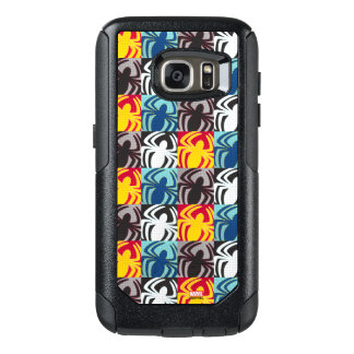 Spider-Man Icon Pattern OtterBox Samsung Galaxy S7 Case