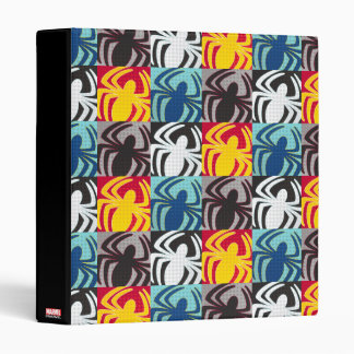 Spider-Man Icon Pattern Vinyl Binder