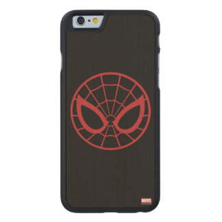 Spider-Man Iconic Graphic Carved® Maple iPhone 6 Case