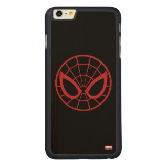 Spider-Man Iconic Graphic Carved® Maple iPhone 6 Plus Case