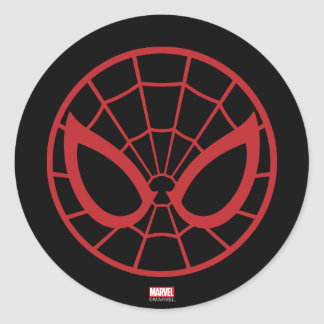 Spider-Man Iconic Graphic Round Sticker