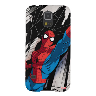 Spider-Man In Abstract City Cases For Galaxy S5