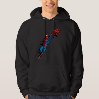 Spider-Man In Abstract City Hoody