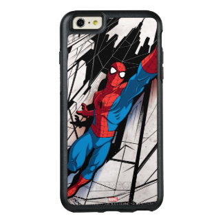 Spider-Man In Abstract City OtterBox iPhone 6/6s Plus Case