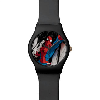 Spider-Man In Abstract City Watch