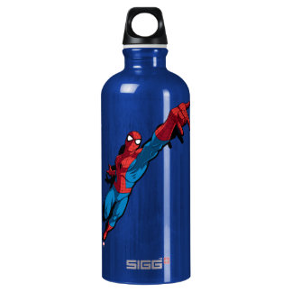 Spider-Man In Abstract City Water Bottle