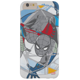 Spider-Man In Kaleidoscope Web Barely There iPhone 6 Plus Case