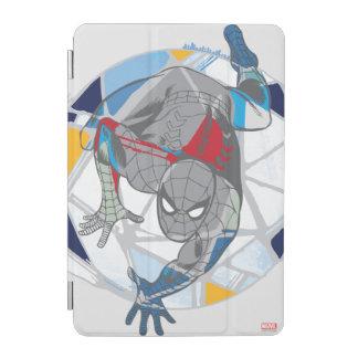 Spider-Man In Kaleidoscope Web iPad Mini Cover