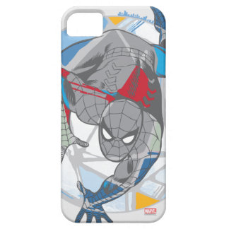 Spider-Man In Kaleidoscope Web iPhone 5 Covers