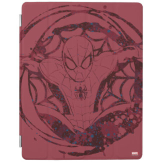 Spider-Man In Web Graphic iPad Cover