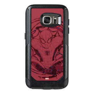 Spider-Man In Web Graphic OtterBox Samsung Galaxy S7 Case