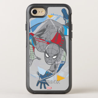 Spider-Man In Web OtterBox Symmetry iPhone 7 Case