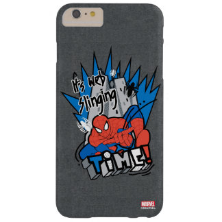 Spider-Man It's Web Slinging Time Barely There iPhone 6 Plus Case