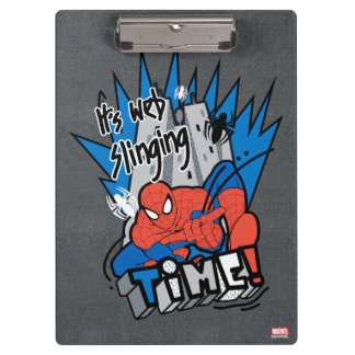 Spider-Man It's Web Slinging Time Clipboard