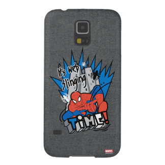 Spider-Man It's Web Slinging Time Galaxy S5 Cover