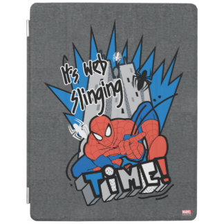 Spider-Man It's Web Slinging Time iPad Cover