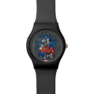 Spider-Man It's Web Slinging Time Wristwatch