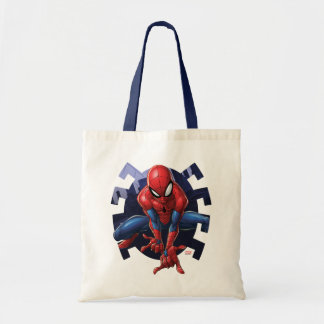 Spider-Man Leaping Out Of Spider Graphic