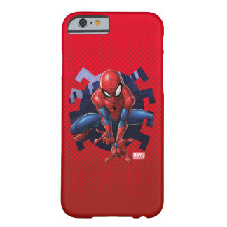 Spider-Man Leaping Out Of Spider Graphic Barely There iPhone 6 Case