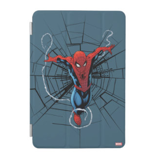 Spider-Man Leaping With Webbing iPad Mini Cover