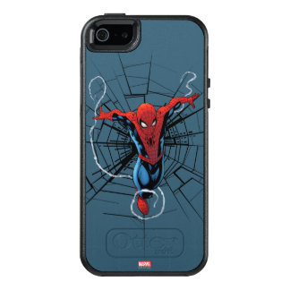 Spider-Man Leaping With Webbing OtterBox iPhone 5/5s/SE Case