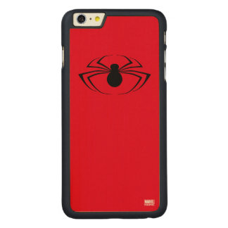 Spider-Man Logo Carved® Maple iPhone 6 Plus Case