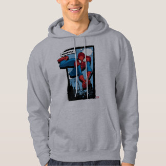 Spider-Man Meanwhile Comic Panel Hoodie