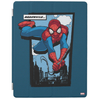 Spider-Man Meanwhile Comic Panel iPad Cover