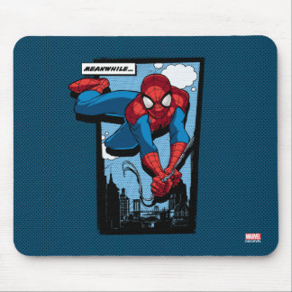 Spider-Man Meanwhile Comic Panel Mouse Pad