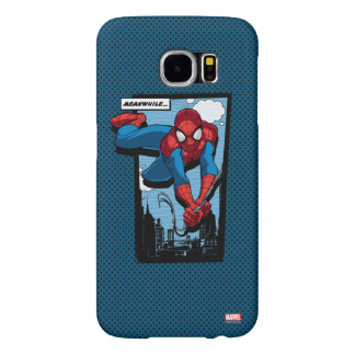 Spider-Man Meanwhile Comic Panel Samsung Galaxy S6 Cases